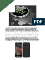 HTC Zara Terungkap Memiliki Spesifikasi Kelas Menengah