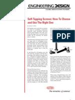 Slef Tapping Screw