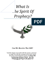What is the Spirit of Prophecy by Trent R. Wilde