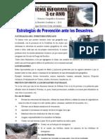 Prevencion Frente a Los Desastres