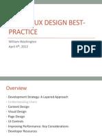 Mobile UI Best Practices