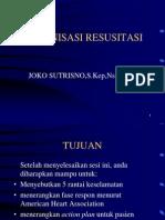 Organisasi Resusitasi Seminar Ppt
