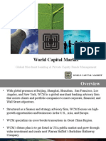 World Capital Market Overview