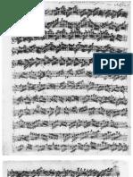 Bach Partita 1013 Mss