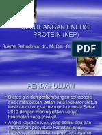 Kekurangan Energi Protein (KEP)