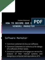 Software Vendor & Marketing
