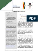 Boletín Communis Opinio - Año 1, No. 7, Febrero 2009.