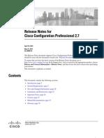 Ccp v27 Rel Notes