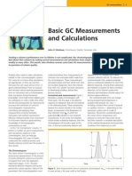 Basic GC Measurement and Calculation