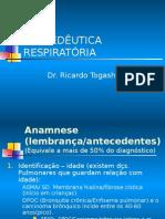 Propedeutica Respiratoria - Prof Ricardo Togashi