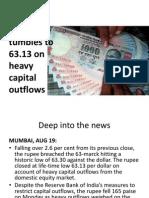 rupee falling rate