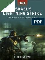 Raid 02, Israel's Lightning Strike, The Raid on Entebbe 1976 - Osprey, 2009