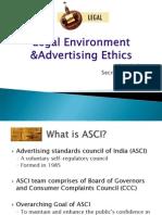 Legal Environment Advertising Etahics Final