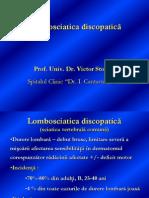 Lombosciatica Discopatica Prof. Dr. Stoica