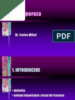 Osteoporoza Curs Studenti 2005 Dr. Mihai Carina