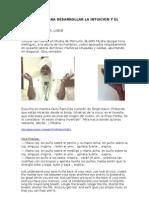 MEDITACIÓN PARA DESARROLLAR LA INTUICIÓN Y EL TERCER OJO.LA828