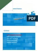 WCDMA P&O a en Handover Control 201012