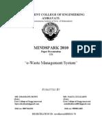 e waste management system.doc
