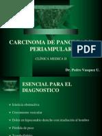 Carcinoma Pancreas Periampulares