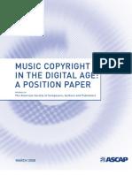 ASCAP BillOfRights Position