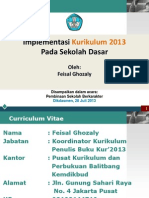 Implementasi Kurikulum 2013 Pada Sekolah Dasar