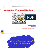Customer Foccuessed Design