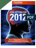 Goal Setting for 2012