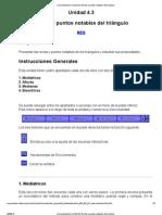 Documentación Unidad 4 RECTAS NOTABLES