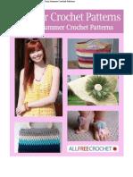 Summer Crochet Patterns 16 Easy Summer Crochet Patterns