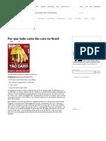 Por que tudo custa tão caro no Brasil – Crash