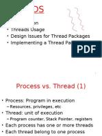 Threads Vs Process