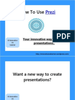 How to Use Prezi (Your New Way to Present Presentations) by Innovative VA Learner