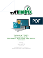 Verimatrix VCAS - Solution Brief