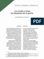 Los Desastres de La Guerra Goya
