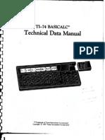 TI74 Technical Data Manual