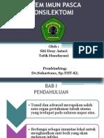 Imun Pasca Tonsilektomi- Referat Ecytatik Ppt