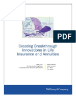 Creating Breakthrough Innovations in Life Insurance