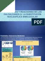 Presentacion Halogenuros de Alquilo SN2