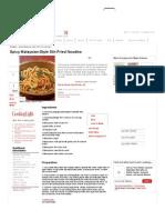 Spicy Malaysian-Style Stir-Fried Noodles Recipe _ MyRecipes