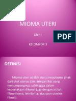 Laporan Kasus Mioma Uteri