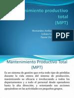 Mantenimiento Productivo Total