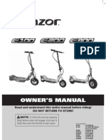 Electric Scooter Manual