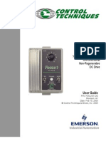 Focus 1 DC Drive user guide