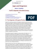 Origen and Origenism - Part III