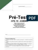 Pré-Teste (CPA-10)