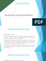 PPenalII - Questoes e Processos Incidentes (1)