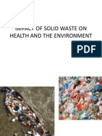 Impact of Solid Wastes
