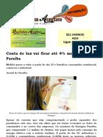 Conta de luz vai ficar até 4% mais barata na Paraíba