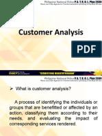 Customer Analysis
