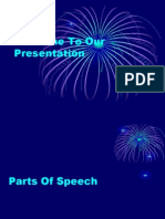 presentation of parts of speech